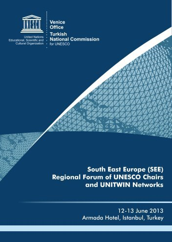 South East Europe (SEE) Regional Forum of UNESCO Chairs and ...