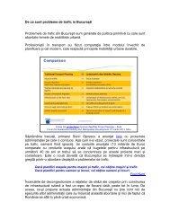 De ce sunt probleme de trafic in Bucuresti.pdf