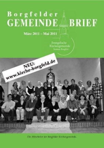 Ausgabe 2/2011 als PDF-Datei herunterladen - Evangelische ...