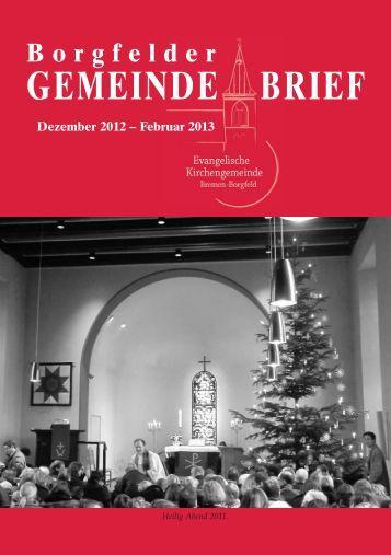 Ausgabe 1/2013 als PDF-Datei herunterladen - Evangelische ...