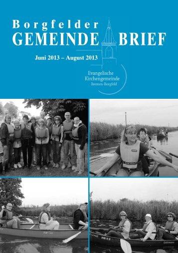 Ausgabe 3/2013 als PDF-Datei herunterladen - Evangelische ...