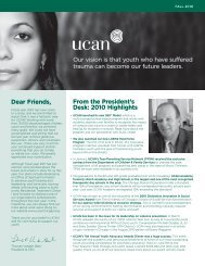 Fall 2010 Newsletter - UCAN