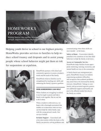 HOMEWORKS PROGRAM - UCAN