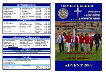 Advent 201 - Katholische Pfarrei St. Christophorus - Haldensleben