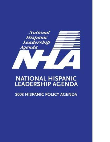 2008 hispanic public policy agenda - maldef