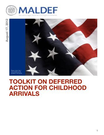 deferred action for childhood arrivals essay To qualify for federal student aid,  if i have been granted deferred action for childhood arrivals (daca), am i eligible for federal student aid.