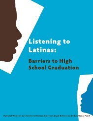 Listening to Latinas - maldef