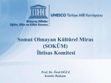 Somut Olmayan Kültürel Miras (SOKÜM) İhtisas Komitesi - Unesco