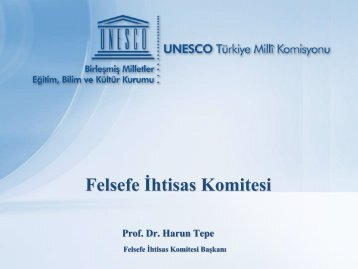 Felsefe İhtisas Komitesi - Unesco