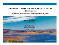 Overview Presentation of Ipswich Stormwater Management ...