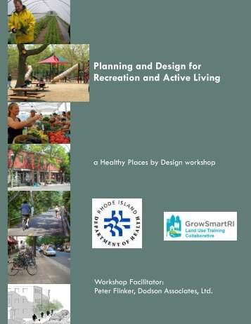 GrowSmartRI Workshop: Parks and Recreation Handout