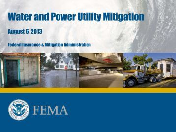 Water and Power Utility Mitigation - Horsley Witten Group