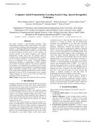 Computer Aided Pronunciation Learning System Using Speech ...