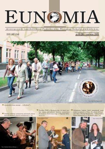 Eunomia 2009/06 - Państwowa Wyższa Szkoła Zawodowa w ...