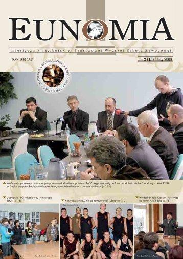 Eunomia 2008/02 - Państwowa Wyższa Szkoła Zawodowa w ...