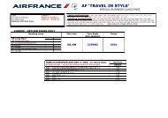 AF 'TRAVEL IN STYLE' - Global Travel Media