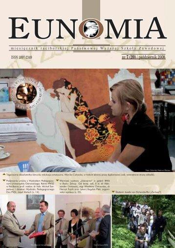 Eunomia 2008/10 - Państwowa Wyższa Szkoła Zawodowa w ...