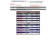 AF European Delights Special fares ex East Coast ... - ETB News