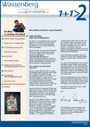 Ihr Blick in unseren Kochtopf - Wassenberg Public Relations für ...