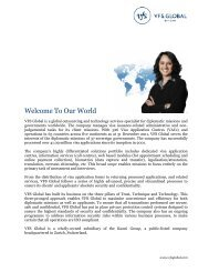 Welcome To Our World - Global Travel Media