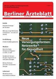 Berliner Ärzteblatt