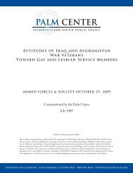Attitudes of Iraq and Afghanistan War Veterans ... - Palm Center