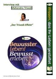 """Interview mit Mahendra Trivedi """"Der Trivedi-Effekt"""" - I-Bux.Com"""