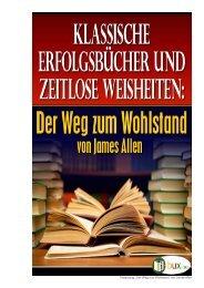 """Textauszug: """"Der Weg zum Wohlstand"""" von James Allen - Bux"""