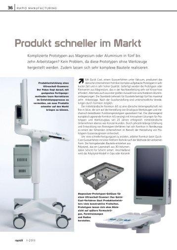 Produkt schneller im Markt - Formkon