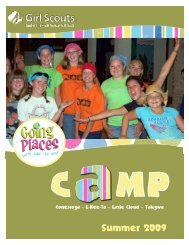 Camp Guide - Girl Scouts Today
