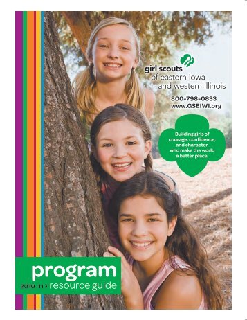 2010-2011 Program Resource Guide (PRG) - Girl Scouts Today