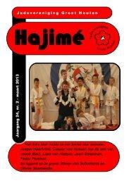 nieuwe Hajime van maart 2013 - Groot Houten