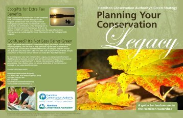 Read more about Planning Your Conservation Legacy. - Hamilton ...