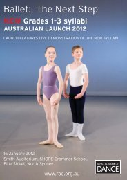 Ballet: The Next Step - Royal Academy of Dance