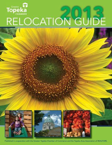 RELOCATION GUIDE - Greater Topeka Chamber of Commerce