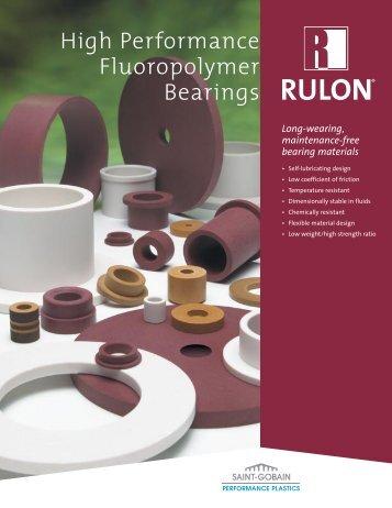 Rulon® High Performance Fluoropolymer Bearings - Saint-Gobain ...