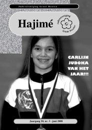 Hajimé 2008 Juni - Groot Houten