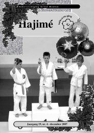Hajimé 2007 December - Groot Houten