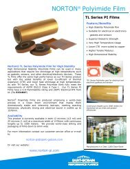 Norton - TL Series High Stability Polyimide Film Brochure