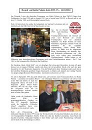 Besuch von Radio Polonia beim SWLCS 16.10.2004 - Wwrundfunk.de