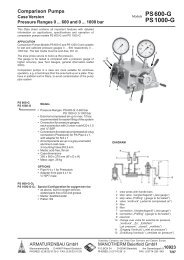 10923 - Pressure gauges and thermometers