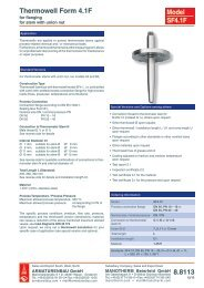 8.8113 - Pressure gauges and thermometers