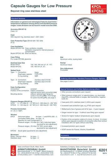 6201 (pdf 385.8 kB) - ARMATURENBAU GmbH und MANOTHERM ...