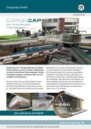 Flyer CargoCap - Was ist CargoCap?