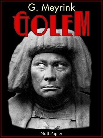 Der Golem – Ein Phantastischer Roman (Gratis)