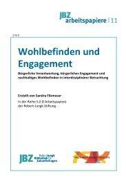 Wohlbefinden und Engagement - JBZ-Arbeitspapiere - WordPress ...