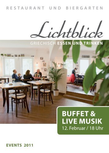 Buffet & Live Musik - restaurant-lichtblick.com