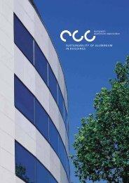SUSTAINABILITY OF ALUMINIUM IN BUILDINGS - European ...