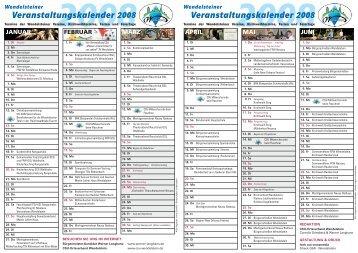 Veranstaltungskalender 2008 ... - CSU Wendelstein