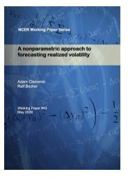 Download full text - National Centre for Econometric Research
